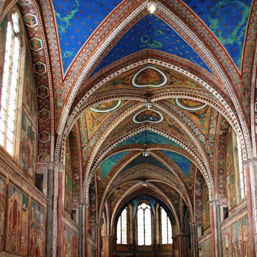 st francis basilica interior